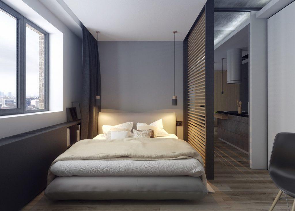 Vách  ngăn phòng ngủ bằng nhựa được nhiều người ưa chuộng với chi phí rẻ và dễ dàng tháo lắp